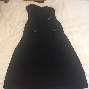 3/$20 ModCloth Coach Tour A-line black dress